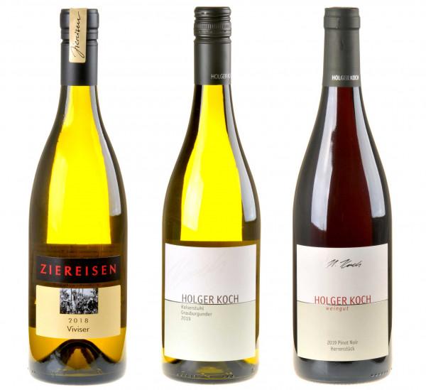 Baden-Weinpaket zum DWI-OnlineSeminar Deutschlands Weinregionen