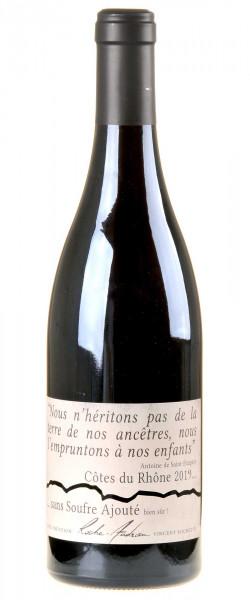 Roche-Audran Côtes du Rhône Rouge sans Soufre Ajouté Bio 2019