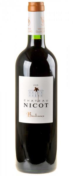 Château Nicot - Vignobles Dubourg Bordeaux Rouge 2018
