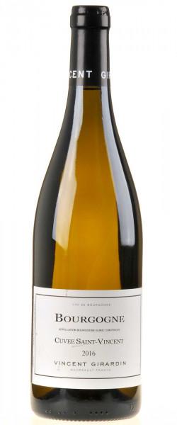 Vincent Girardin Bourgogne Blanc Cuvée Saint-Vincent 2016