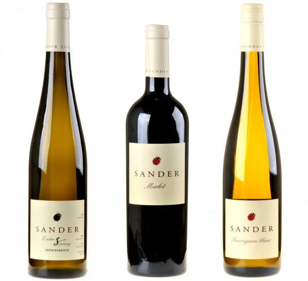 3er-Weinpaket Rebenretter zum vinocentral-Livestream 3 Gläser mit Stefan Sander