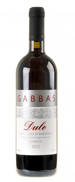 Gabbas Dule Cannonau di Sardegna 2012