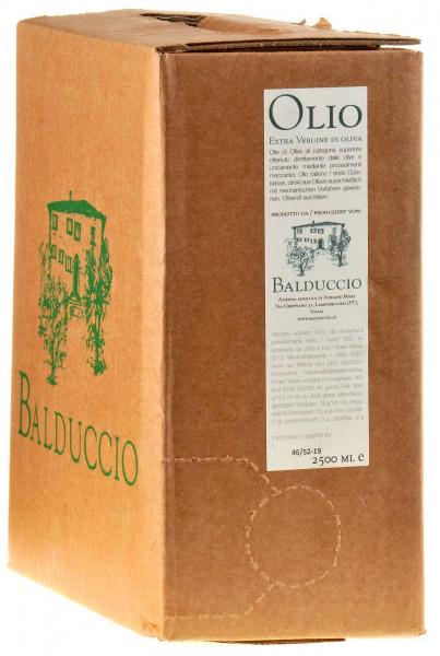 Balduccio Olivenöl Extra Vergine 2019 2,5l bag in box