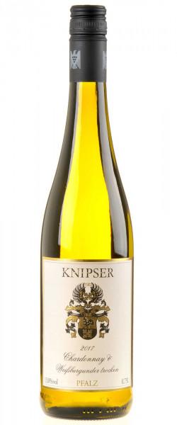 Weingut Knipser Chardonnay & Weißburgunder 2017