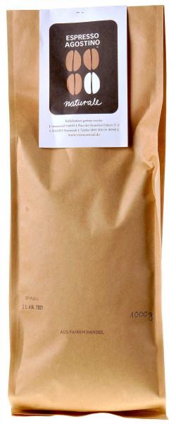 Espresso Agostino Naturale: Brasil Sao Silvestre Arabica 1kg