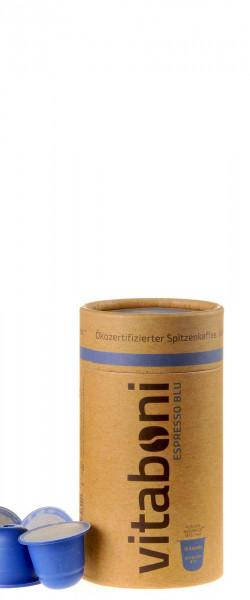 Vitaboni Bio Espresso Blu 10 Kapseln komplett kompostierbar