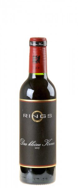 Weingut Rings Das kleine Kreuz Rotweincuvée 2017 0,375l