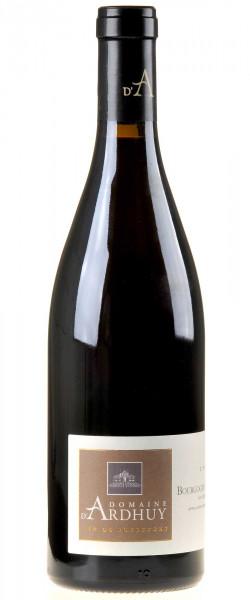 Domaine d'Ardhuy Bourgogne Côte-d'Or Pinot Noir 2018 linke Seite