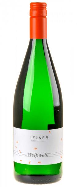 Weingut Leiner Weißwein feinherb 1 Liter Bio 2017