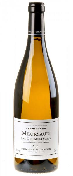Vincent Girardin Bourgogne Blanc Meursault 1er Cru Les Charmes-Dessus 2016
