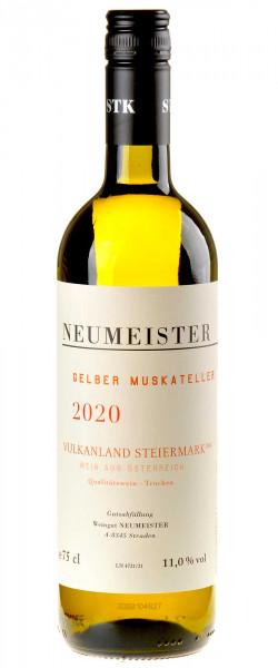 Neumeister Gelber Muskateller Vulkanland Bio 2020