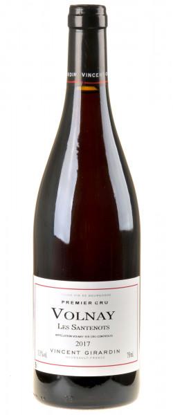 Vincent Girardin Bourgogne Rouge Volnay 1er Cru Les Santenots 2017
