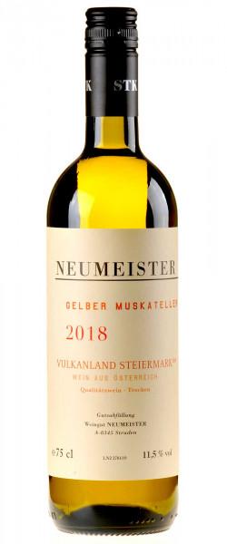 Neumeister Gelber Muskateller Vulkanland 2018 Bio