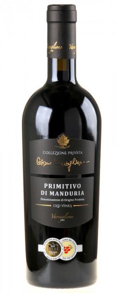 Varvaglione Cosimo Varvaglione Collezione Privata Primitivo di Manduria old vines 2015